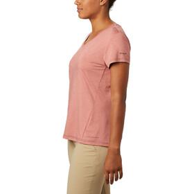 Columbia Bryce Short Sleeve Tee Women dark coral heather
